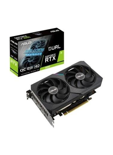 Asus Geforce Dual-Rtx3060-12G 12Gb Gddr6 192Bit  Oc 1Xhdmı 3Xdp Ekran Kartı Renkli